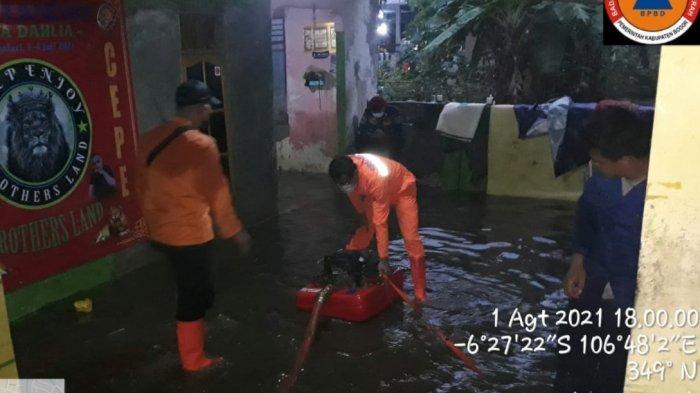 Longsor Hantam Nagrak Sukabumi gara-gara Hujan Intensitas Tinggi, di Bogor Akibatkan Banjir