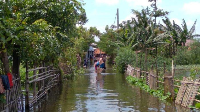 Banjir Rendam 2.806 Rumah di Karawang, Sungai Meluap, Air Menerjang 8 Desa di Dua Kecamatan