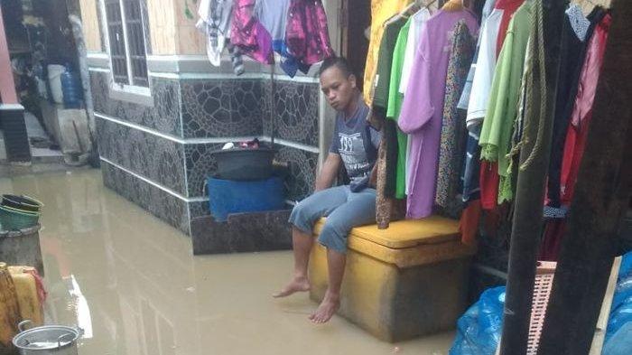 Datang Lebih Besar, Banjir Rob Terjang 3 Desa di Kawasan Pesisir Kabupaten Indramayu