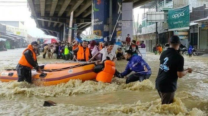 Tidak Sedikit, Banjir yang Rendam 18 Kecamatan di Subang Akibatkan Kerugian Mencapai Rp 421 Miliar