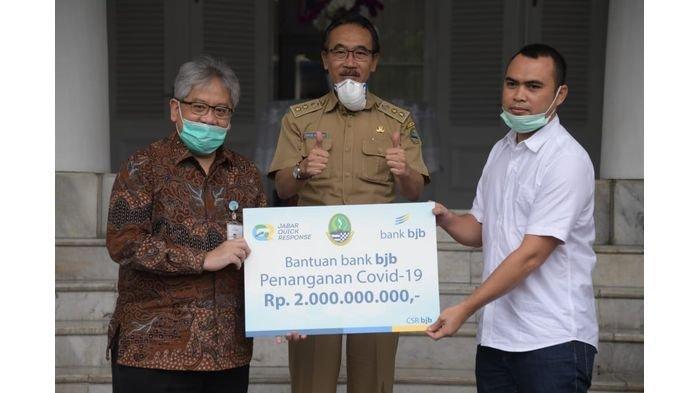 Bank BJB Salurkan Dana Bantuan Rp 2 Miliar untuk Penanganan Covid-19