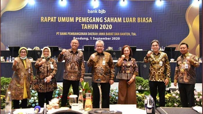 Bank BJB Dorong Pertumbuhan Kredit Komersial dan UMKM, Ada Penunjukan Direktur dalam RUPSLB