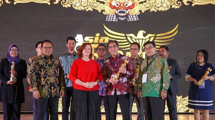ASRRAT 2019, Praktik Bisnis Berkelanjutan bank bjb Diganjar Penghargaan ''Gold Rank''