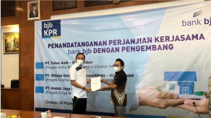 Pelaksanaan Penandatanganan kerja sama dilakukan pada Rabu (10/3/2021) di bank bjb Kantor Cabang Cirebon