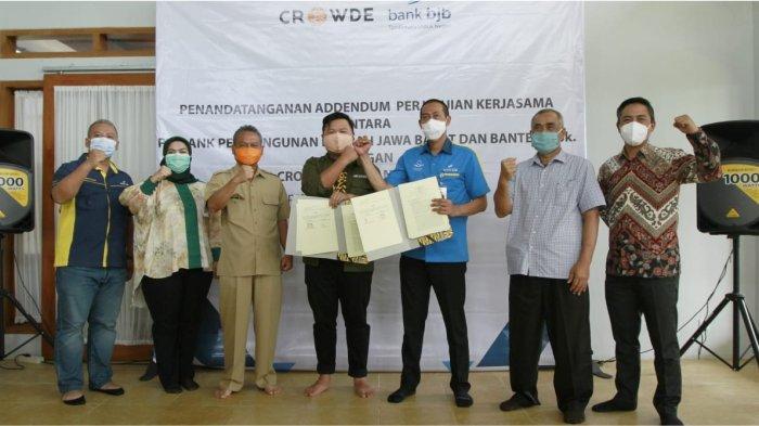 bank bjb Salurkan KUR kepada Petani di Kabupaten Sukabumi
