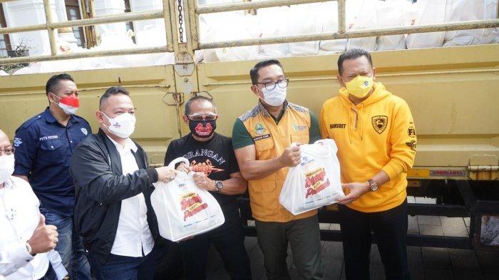 Bantu Warga di Masa Pandemi Covid-19, Pansaka Sebarkan Lebih dari 35 Ribu Goodie Bag Berisi Sembako