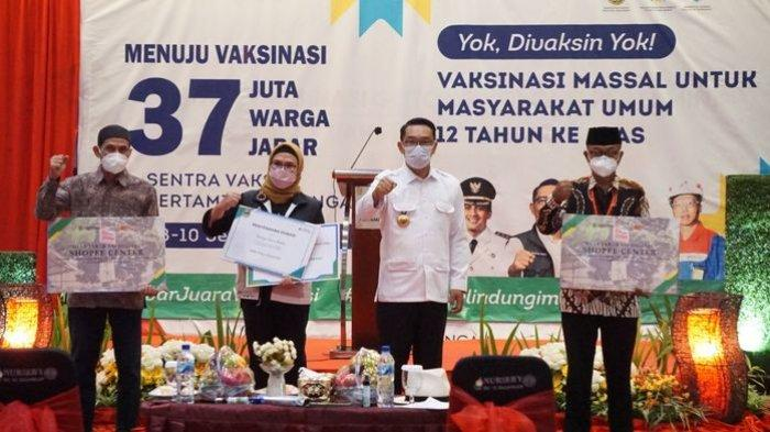 Pemprov Jabar dan Shopee Distribusikan 1 Desa 1 Laptop, Ridwan Kamil: Agar Produk UMKM Makin Dikenal