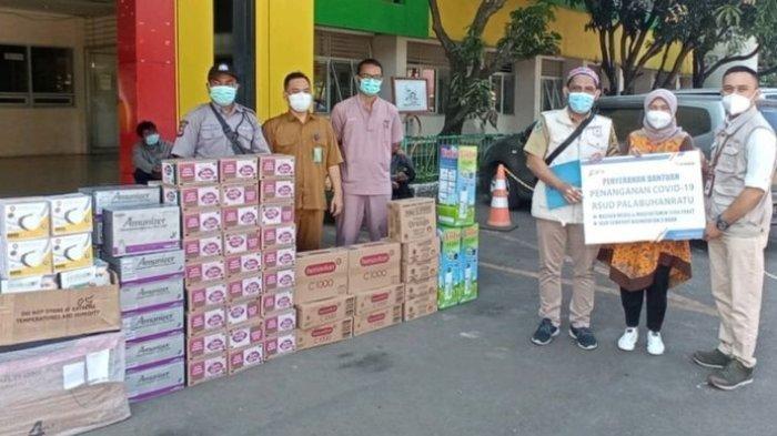 Bantu Warga yang Isoman dan Nakes, PLTU Palabuhanratu Salurkan Ribuan Paket Sembako dan Vitamin