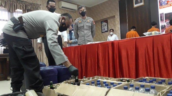 Jual Miras Menjelang Ramadan, 4 Pedagang di Sumedang Diamankan Polisi