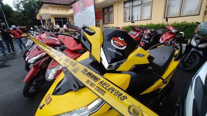 Puluhan Sepeda Motor Diamankan Polres Sukabumi, Pemilik Bisa Mengambil Sambil Membawa Bukti