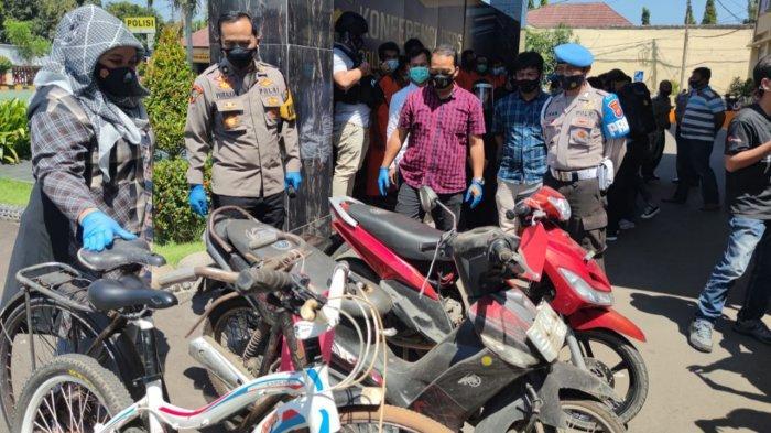 Beli Sepeda Motor Curian Melalui Media Sosial, Pria di Cirebon Terpaksa Berurusan dengan Polisi