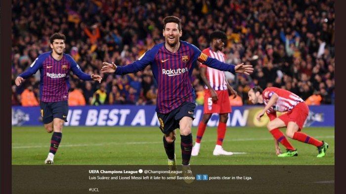 Lionel Messi Berpeluang Pindah ke Inter Milan dengan Opsi Lautaro Martinez ke Barcelona