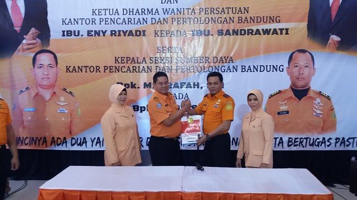 Kantor SAR Bandung Berganti Nakhoda, dari Riyadi ke Deden Ridwansyah.
