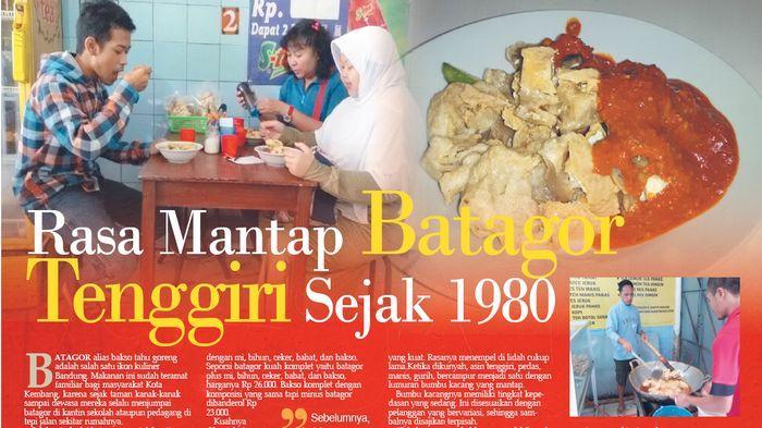 Wow! Rasa Mantap Batagor Tenggiri Sejak 1980 di Kedai Batagor H Darto di Simpang Dago Bandung