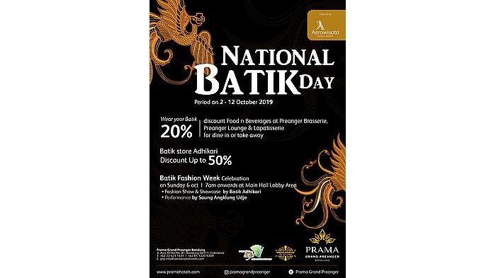 Batik Fashion Week Celebration di Prama Grand Preanger Sekaligus Nikmati Beragam Promo Discount