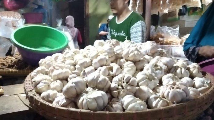 Dampak Corona di Cina, Harga Bawang Putih di Purwakarta Capai Rp 60 Ribu Per Kilogram