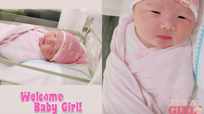 Bayi yang dilahirkan Puput Nastiti Devi dari pernikahan dengan Ahok BTP.