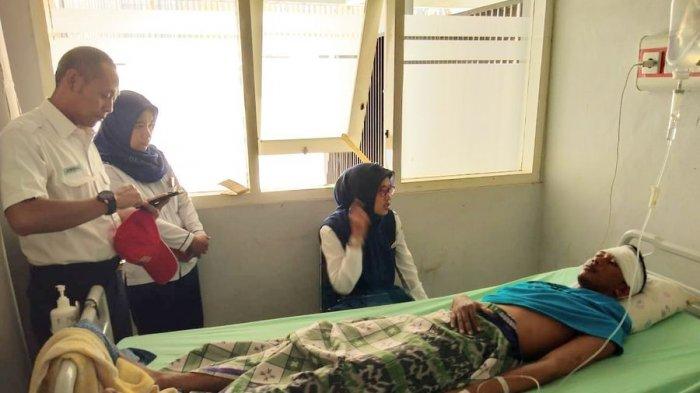 Petugas PT KAI Daop 3 Cirebon Dibacok Orang Tidak Dikenal, Pulang Beli Nasi Kuning