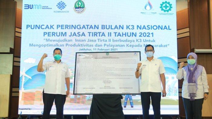 Begini Cara PT Jasa Tirta II Implementasikan Budaya K3 di Lingkungan Kerjanya