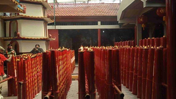 Begini Perayaan Imlek di Vihara Dharma Ramsi Kota Bandung di Tengah Pandemi Covid-19