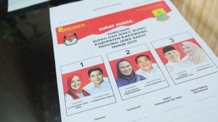 Jelang Pencoblosan, Semua Pasangan Cabup Cawabup Karawang Siap Gaet Suara Swing Voters