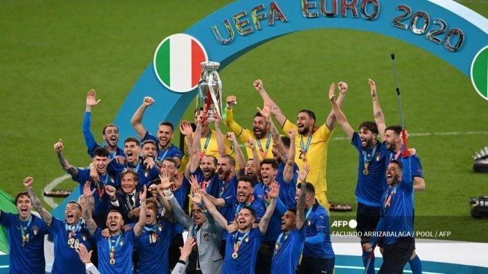 Hasil Final Euro 2020, Italia Juara Kembali Setelah 1968, Ini Komentar Roberto Mancini