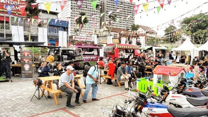 Popark Market Kembali Digelar di Podomoro Park Bandung, Bertema ''Summer Camp and Food Festival''