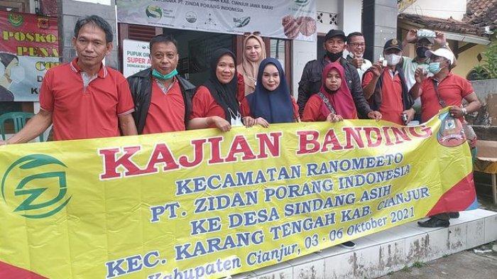 Jauh-jauh Datang ke Sindangasih Cianjur, Ini Maksud Belasan Warga Konawe Selatan Sulawesi Tenggara
