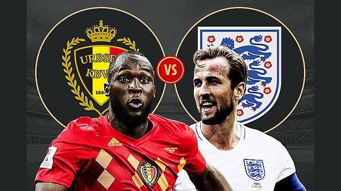 Hasil Babak Pertama Belgia Vs Inggris, Gol Cepat Meunier Buat Three Lions Tertinggal 1-0
