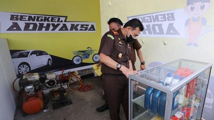 Kejari Kabupaten Sukabumi Siapkan Bengkel Gratis Buat Warga Bekerja Sama dengan Koperasi dan SMKN