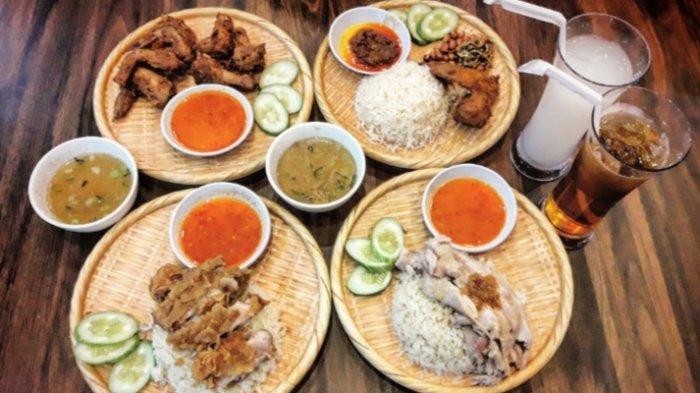 Menikmati Aneka Kuliner Nasi Ayam Khas Malaysia di Resto 168 Chicken Rice