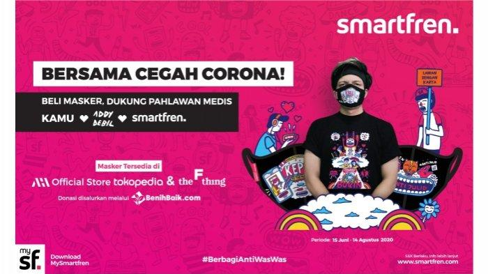 Bantu Pahlawan Medis, Smartfren kembali berkolaborasi dengan Konten Kreator Muda & Benih Baik