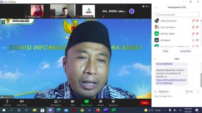 KI Jabar: Pandemi Tak Halangi Monitoring Evaluasi Badan Publik di Jawa Barat