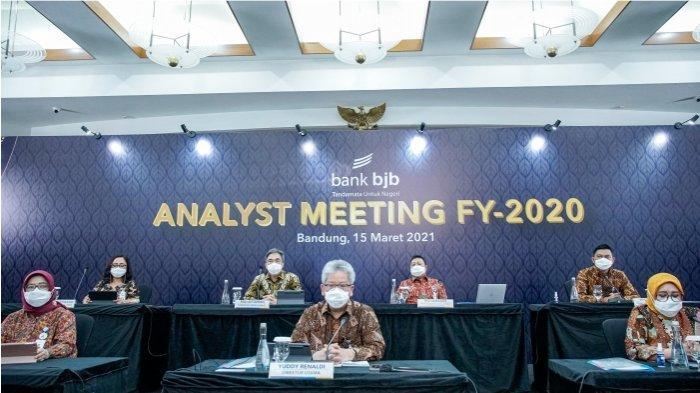 Catatkan Laba Bersih Rp1,7 Triliun, Kinerja bank bjb Konsisten Tumbuh Sepanjang 2020