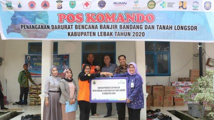 Pemulihan Bencana Bogor dan Lebak, bank bjb Kembali Serahkan Bantuan Kemanusiaan