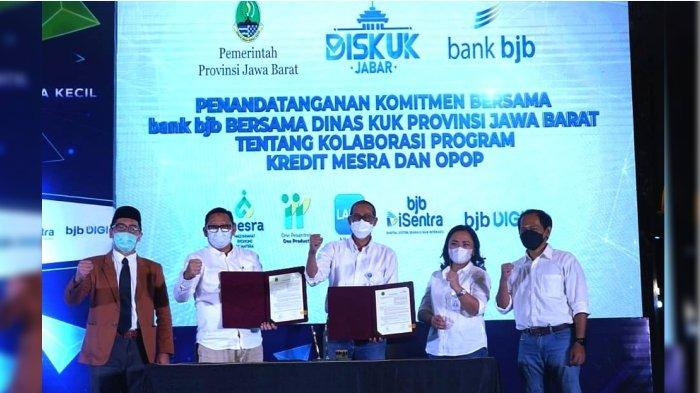 Sinergi Kolaborasi bank bjb Perkuat Sektor Usaha di Jawa Barat