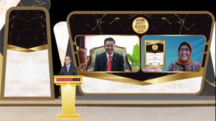 bank bjb Raih Penghargaan dari Warta Ekonomi Indonesia Best Bank 2021