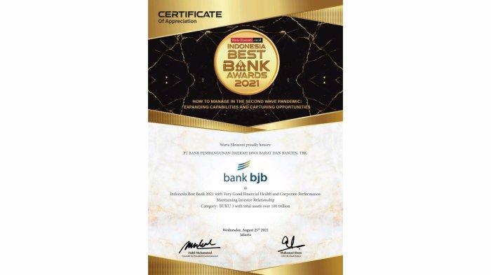 bjb Indonesia Best Bank 2021 1