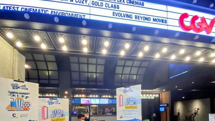 bank bjb menyelenggarakan program nonton bareng bjb WideSCREEN yang diselenggarakan di bioskop CGV, Mal 23 Paskal, Kota Bandung, Jawa Barat