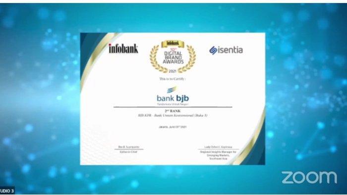 Ekspansi bjb KPR, Didapuk Dengan Penghargaan Infobank