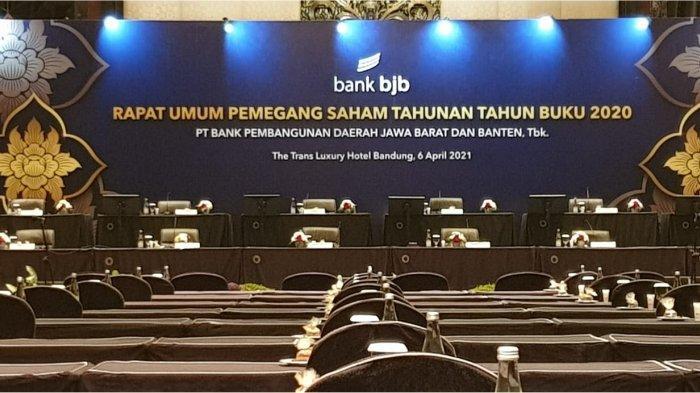 bank bjb Selenggarakan RUPST Tahun Buku 2020