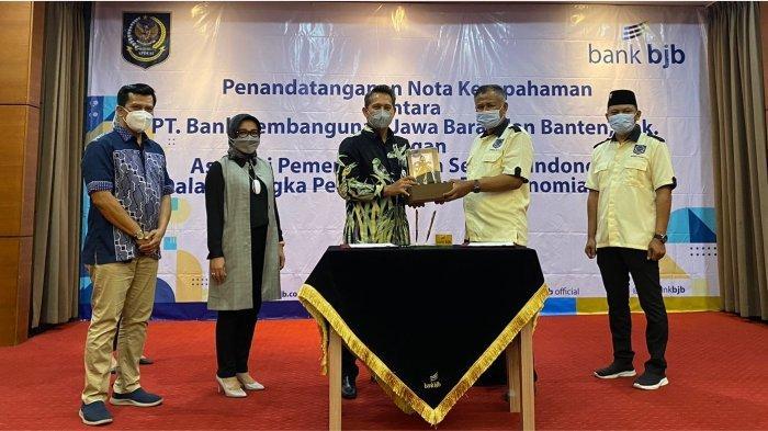Tingkatkan Kesejahteraan Masyarakat Desa, bank bjb Jalin Kerja Sama dengan APDESI Jawa Barat