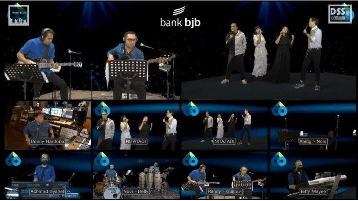 Semarak Nostalgia Musik 90-an dalam Konser 7 Ruang bank bjb