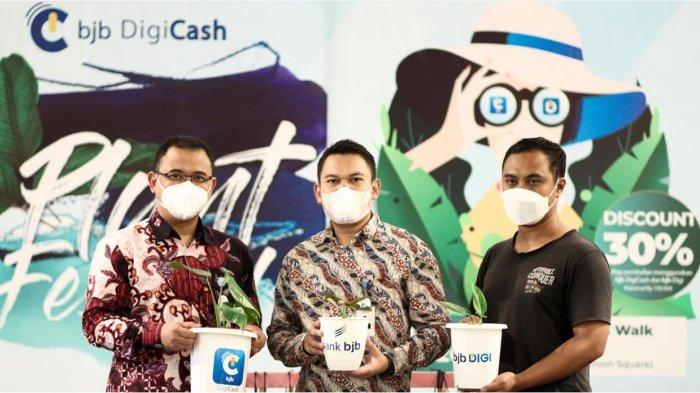 Dukung Transaksi Cashless di Berbagai Sektor, bank bjb Gelar Digicash Plant Festival