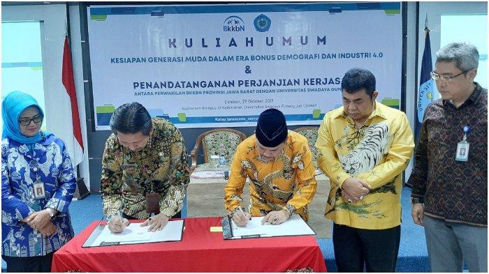 BKKBN dan UGJ Cirebon Tanda Tangani MoU Pendidikan Kependudukan