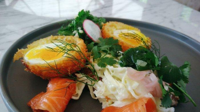 Patut Dicoba Nih, Blackbirds Eggs Di Jero, Combro Berisi Telur dan Daging Salmon