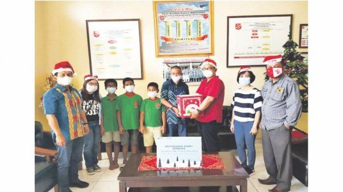 Rayakan Natal 2020, BNI Kantor Wilayah Bandung Melaksanakan Program BNI Berbagi