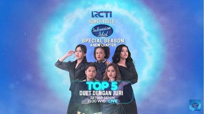 Prediksi Lagu Kontestan Indonesian Idol Malam Ini, Duet dengan Juri, Tayang Setelah Ikatan Cinta