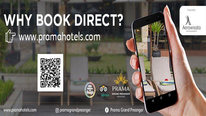 Book Direct Website Prama Grand Preanger Bandung, Lebih Hemat dan Untung Lebih Banyak