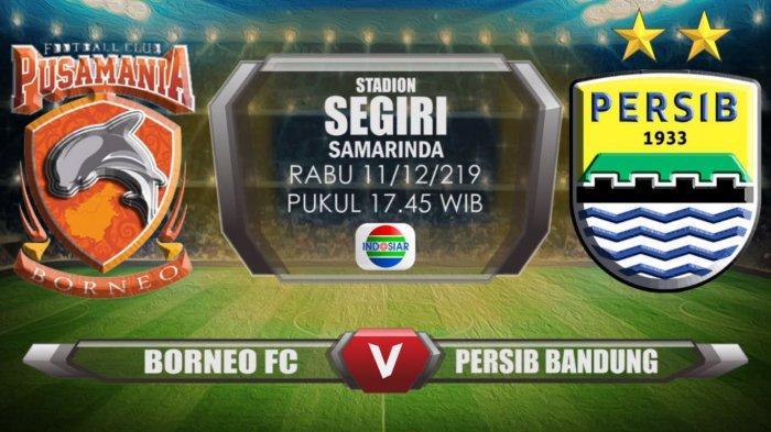 LIVE STREAMING Borneo FC vs Persib Bandung, Maung Bandung Yakin Raih Poin Meski Kurang Mesin Gol